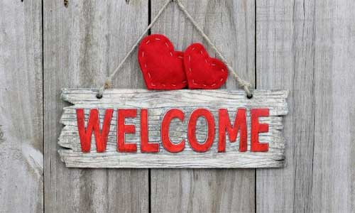 how to make a welcome home sign