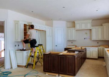 Remove Kitchen Cabinet