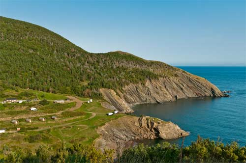 Land on Cape Breton Island