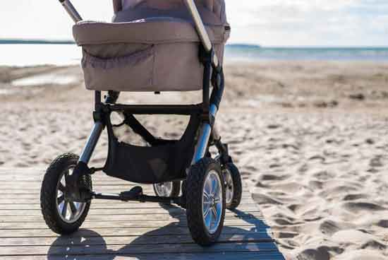 Weight and foldable quality of the stroller