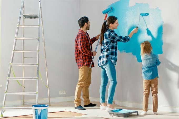 Interior House Paint